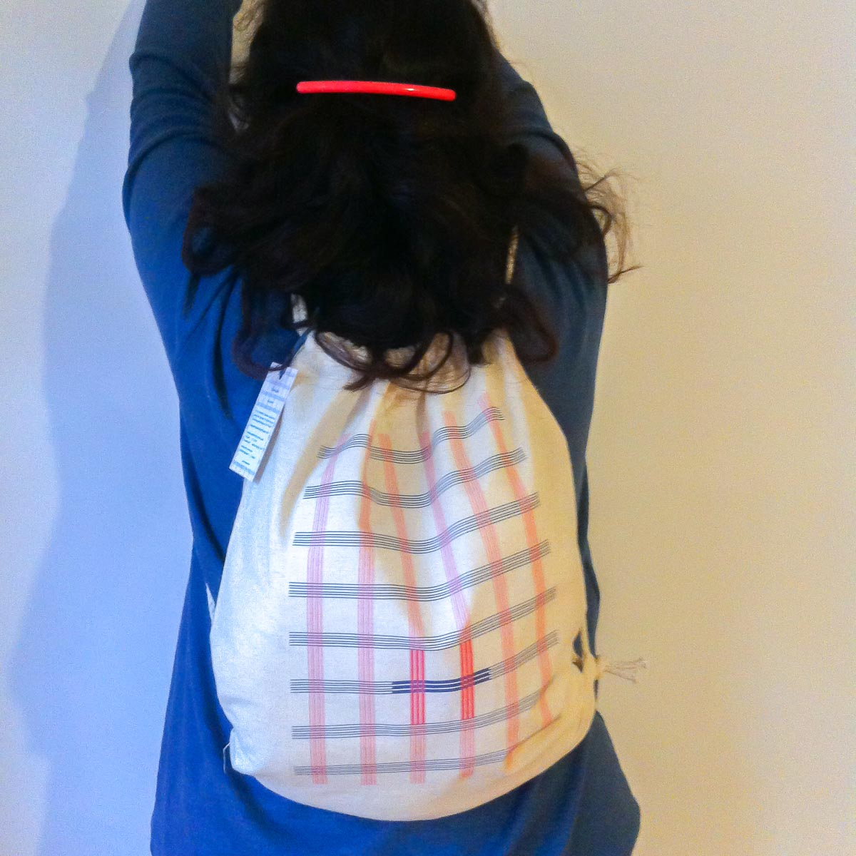 """Ekose"" backpack in use"