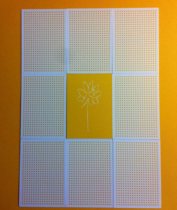 Collections-Spring-Postcard-Yellow-Flower-Polkadot-Hamide-Design-Studio