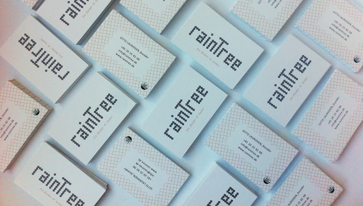 RainTree business cards