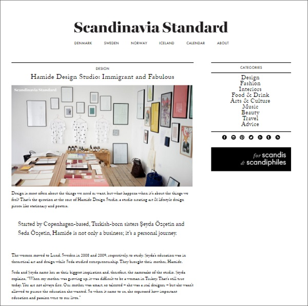 Press-Interview-Scandinavia-Standard-July-2015-Hamide-Design-Studio