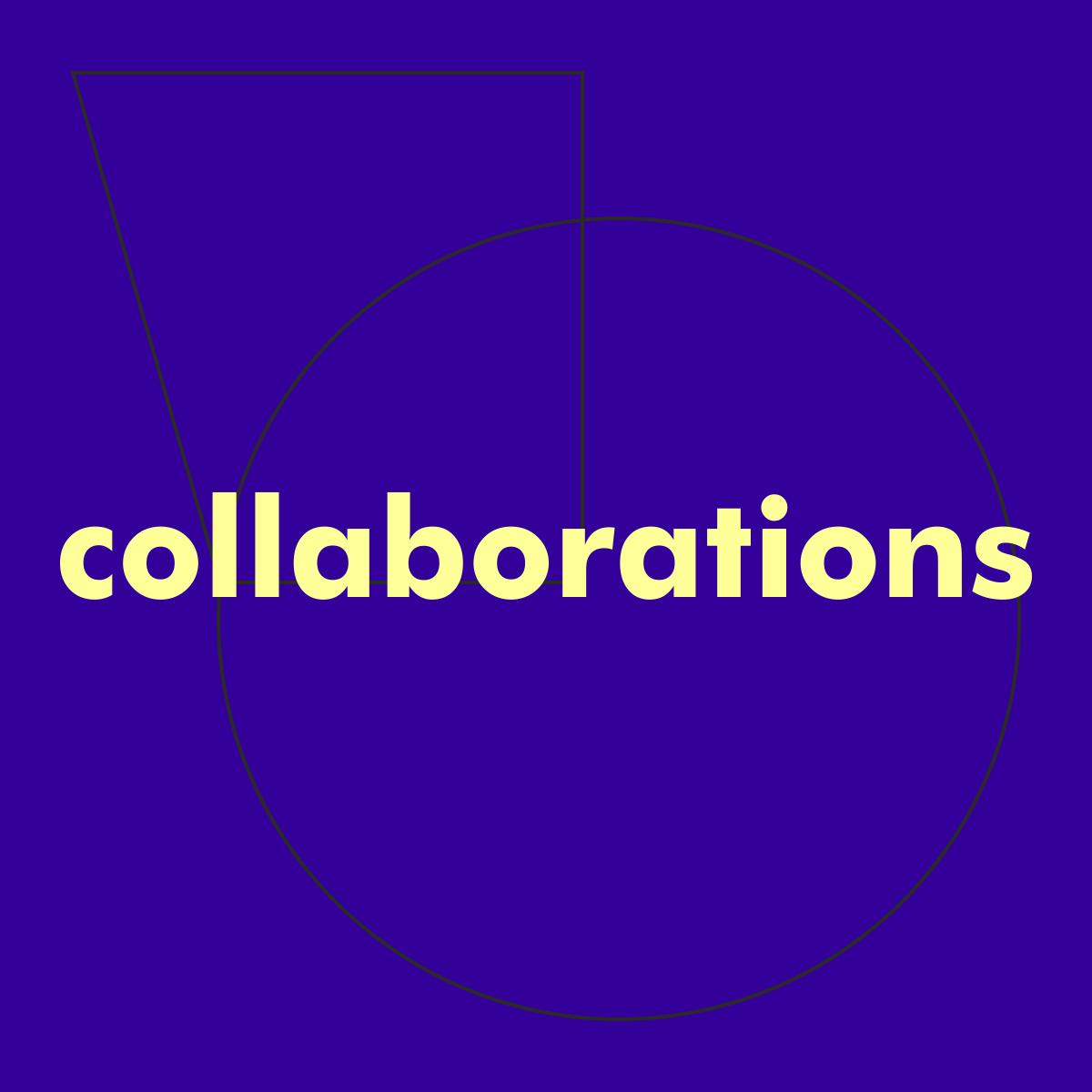 "Thumbnail for ""collaborations"" shop page"