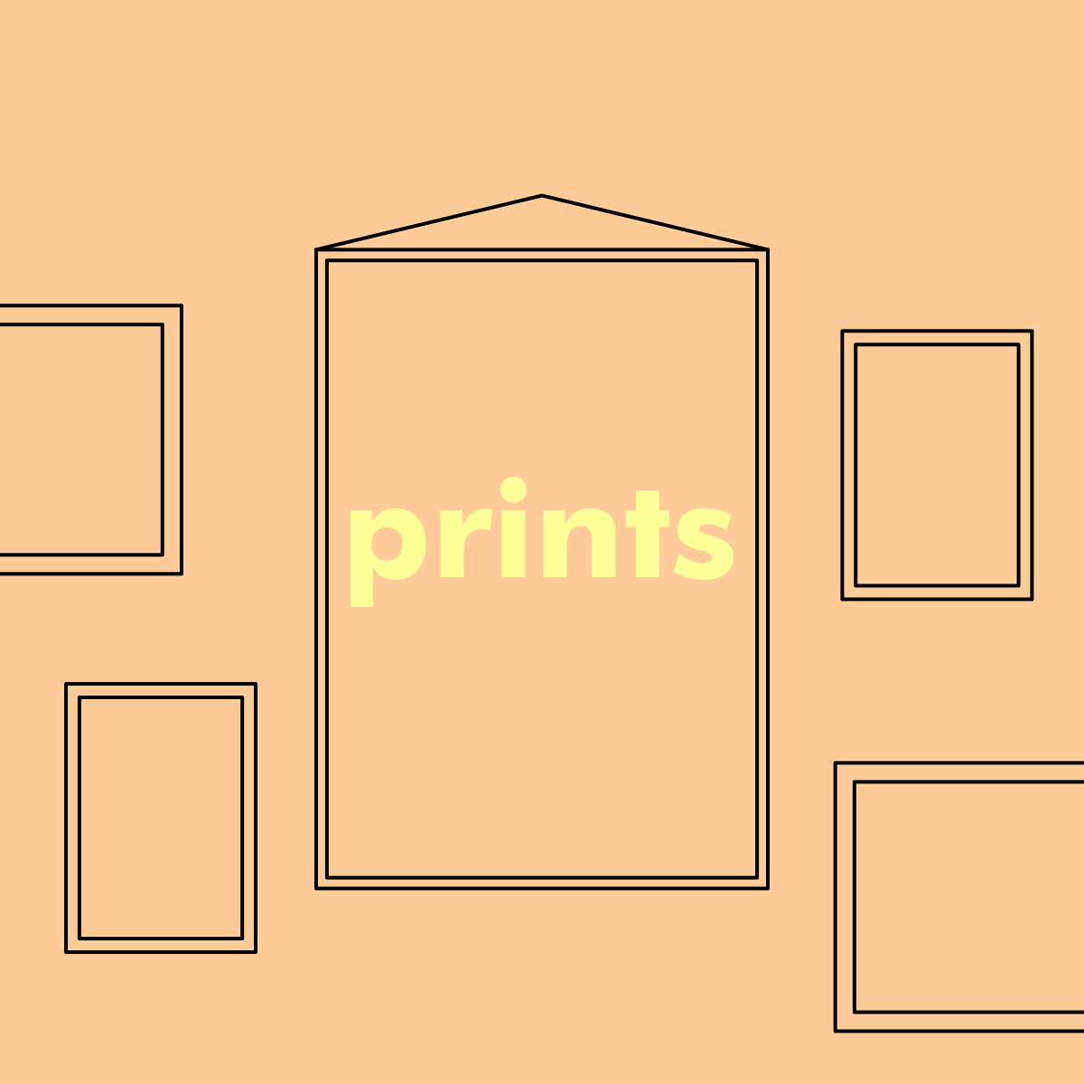 "Thumbnail for ""Prints"" product category of the shop"