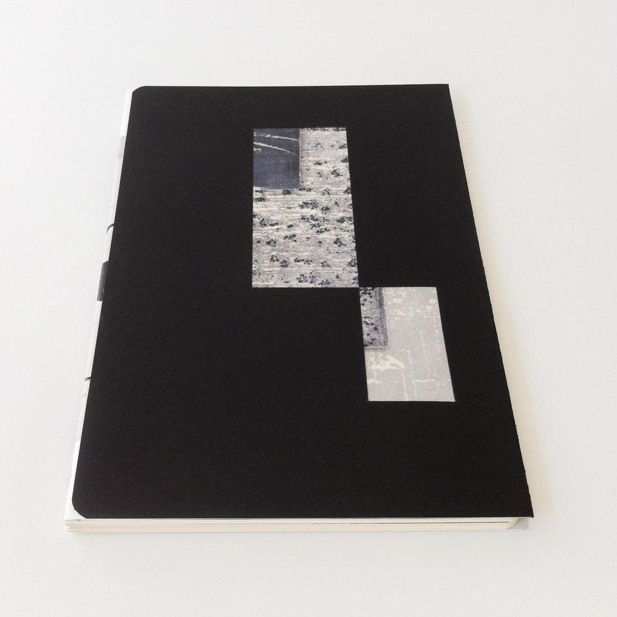"""""""Hacked!"""" notebook for Mater Earth Gallery"""